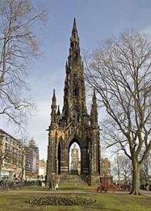 Monumento a Sir Walter Scott. wikipedia.org