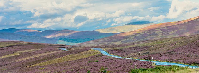 Catena montuosa di Cairngorms