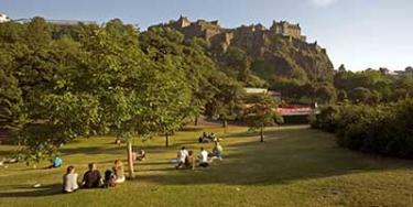 I più bei giardini di Edimburgo
