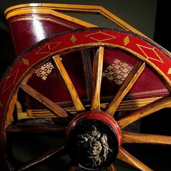 Carro romano del Muro de Adriano en el tour desde edimburgo