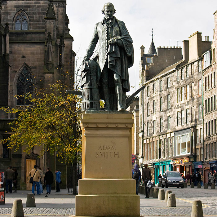 Statua di Adam Smith