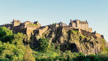Ingresso al Castello di Edimburgo