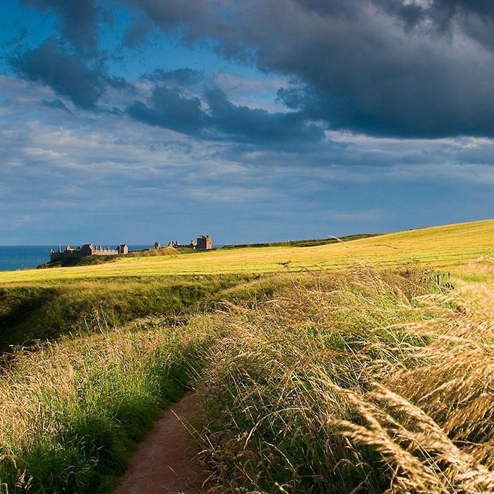 castello di Dunnotar in Scozia