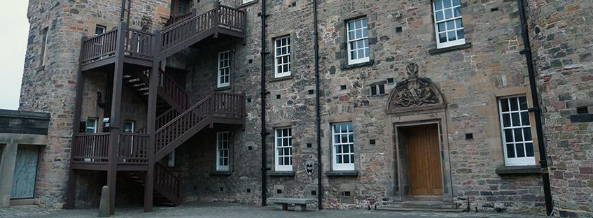 National War Museum of Scotland nel Castello di Edimburgo