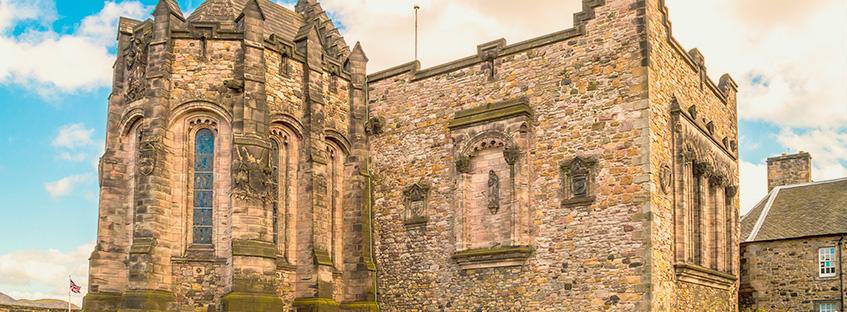 La cappella di Santa Margherita nel castello di Edimburgo