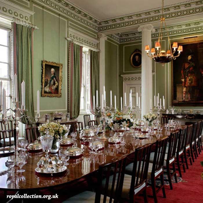 Sala da pranzo del Palazzo di Holyrood
