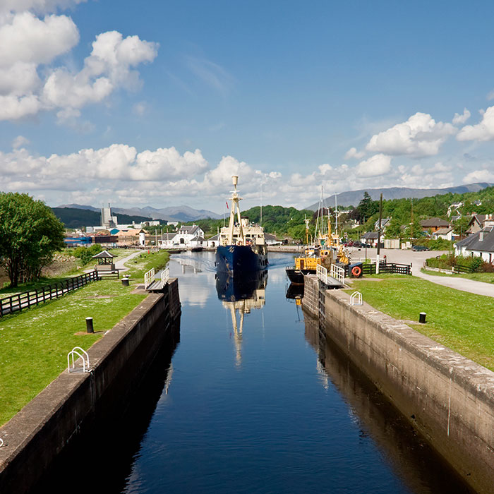 Fort Augustus canale di caledonia