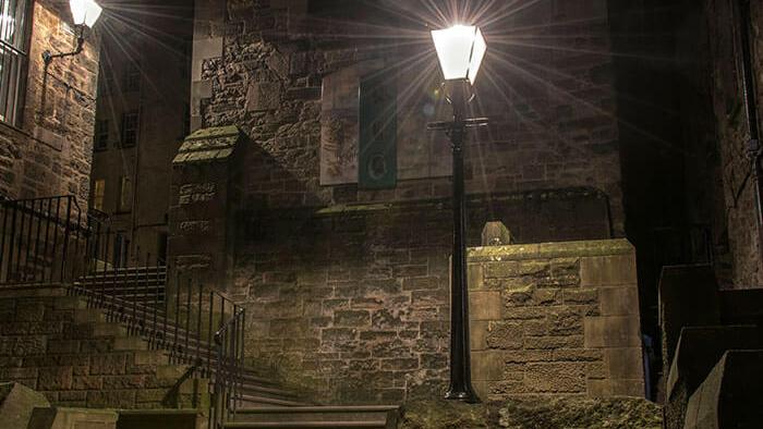 scalinata per la piazza degli scrittori