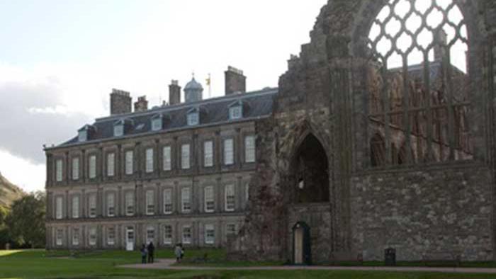 palazzo e abazia di Holyrood Palace