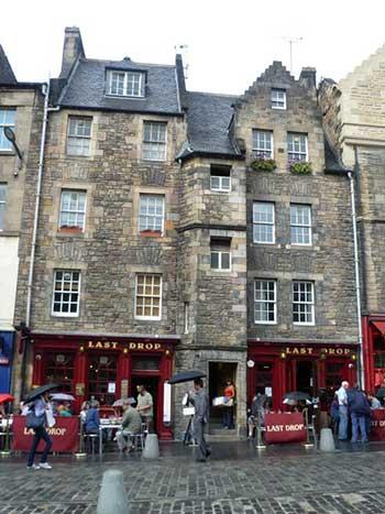 Pub Last Drop a Edimburgo