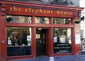 Elephant House Café. Edimburgo
