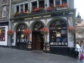 Deacon Brodie's Tavern a Edimburgo