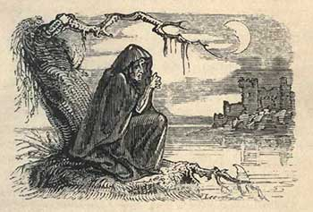 Illustrazione in Fairy Legends and Traditions of the South of Ireland. Thomas Crofton Crokers