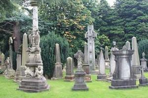 Cimitero del Dean Villlage a Edimburgo
