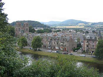Inverness, cattedrale e fiume