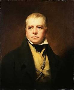 Ritratto di Sir Walter Scotti di Henry Raeburn