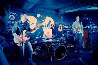 Musica dal vivo al Wistlebinkies Pub, Edimburgo.