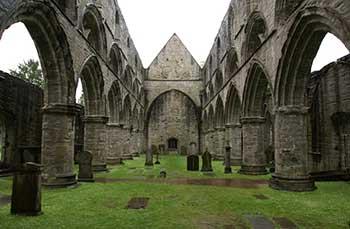 Interno della Cattedrale di Dunkeld