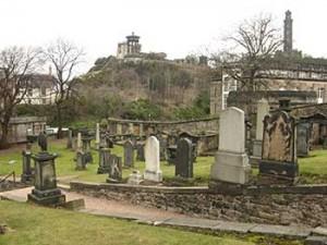 Viaggio in Scozia Cimitero di Calton Hill