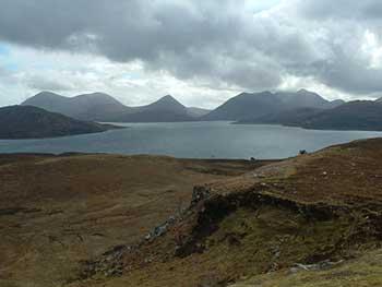 Cuillin Hills sull'isola di Skye