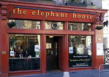 Elephant House Café. Edimburgo