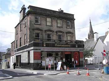 Hootananny Pub a Inverness.
