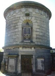 Mausoleo di David Hume, Calton Cemetery Edimburgo