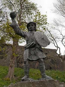 Statua di Rob Roy -