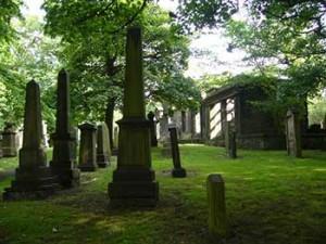 Cimitero di St. Cuthbert a Edimburgo