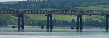Ponte Ferroviario sul fiume Tay