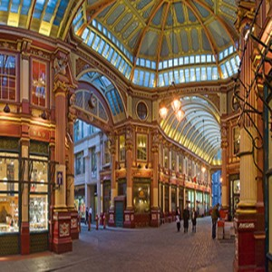 Leadenhall Market. Fonte: David Iliff [CC-BY-SA 3.0], via wikimedia.org