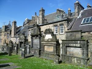 Cimitero di edimburgo più terrificante: cimitero di Greyfriars