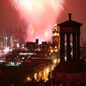 Fuochi d'artificio Edimburgo