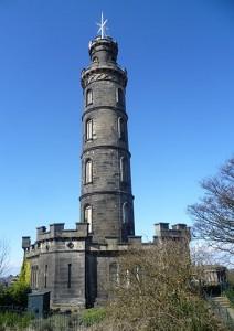 Viaggio in Scozia Monumento a Nelson