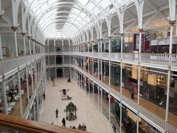 Gran Galleria del Museo Nazionale di Edimburgo