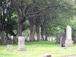 Cimitero di Seafield. Foto di geograph.org.uk
