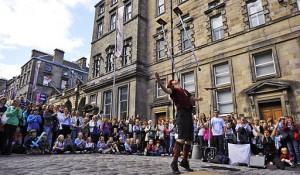 Artisti di strada al Fringe Festival
