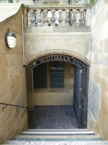"Scale di ""The Scotsman Building"""