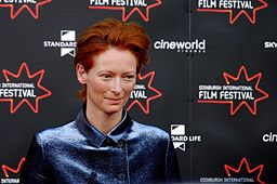 Tilda Swinton all'Edinburgh Film Festival