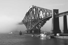 nebbia edimburgo Forth Rail Bridge