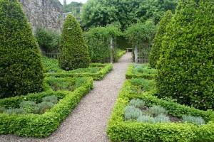 Giardino di Dunbar's Close.