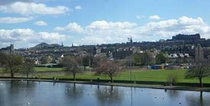 Parco di Inverleith.