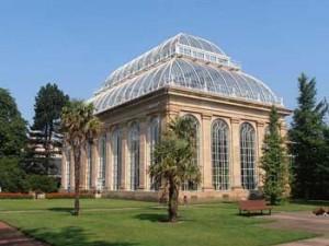 La Palm House all'Orto Botanico di Edimburgo.