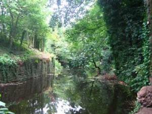 Water of Leith all'altezza del Dean Village.