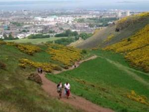 Holyrood Park - Salita ad Arthur's Seat