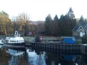 Caledonian Cruise a Fort Augustus