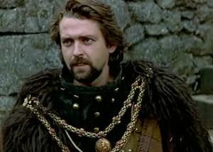 Robert the Bruce (Angus Macfayden) in Braveheart