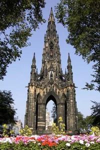 Edimburgo Monumento di Walter Scott