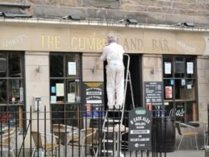Cumberland Bar a Edimburgo