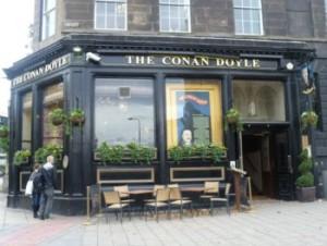 Conan Doyle pub a Edimburgo